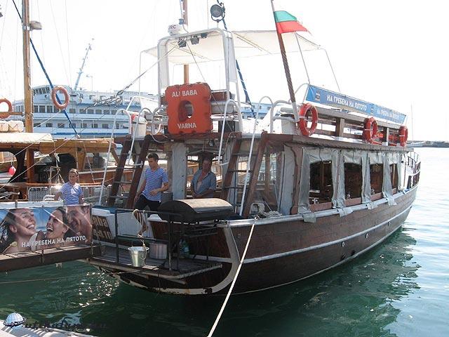 Neszebár & Ali Baba hajó